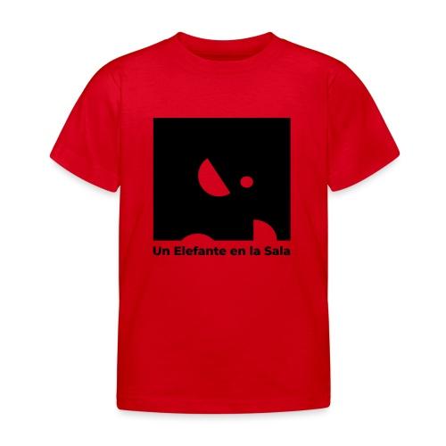 Logo Elefante Negro - Camiseta niño