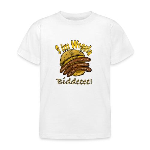 3imWeggla - Kinder T-Shirt