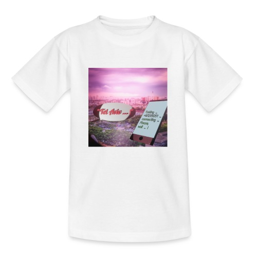 Tal Aviv is calling - traumhafter Sehnsuchtsort - Kinder T-Shirt