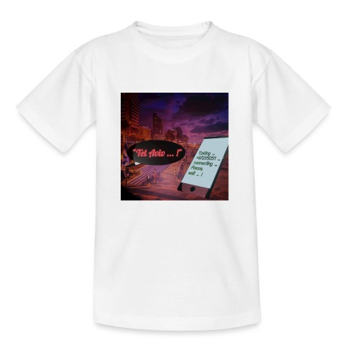 Tel Aviv is calling - Sehnsuchtsorte - Kinder T-Shirt