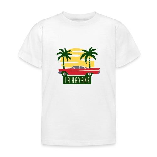 La Havana Vintage - Kinder T-Shirt