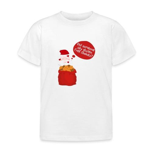 Santa goes gluten free - Kinder T-Shirt