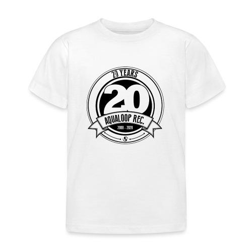 20Y Aqualoop Records - Kids' T-Shirt