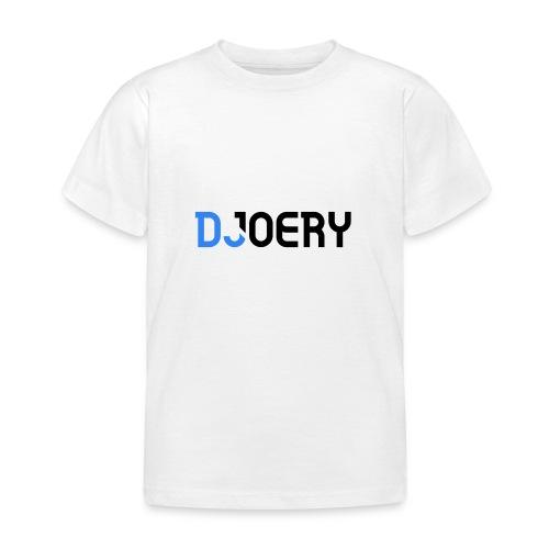 logo transparantbg blacktext noslogan - Kinderen T-shirt