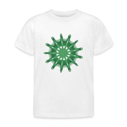grünes Steuerrad Grüner Seestern 9376alg - Kinder T-Shirt