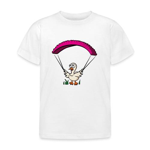 Groundhendl Groundhandling Hendl Paragliding Huhn - Kinder T-Shirt