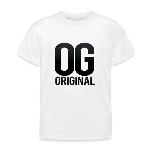 OG as original - Kids' T-Shirt
