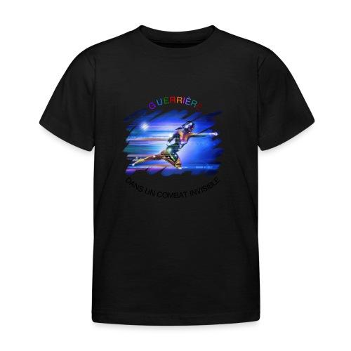 Guerrière dans un combat invisible - T-shirt Enfant