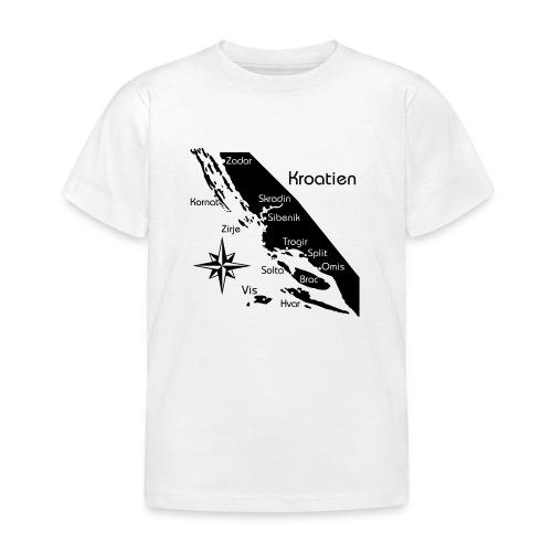 Kroatien Zadar bis Hvar - Kinder T-Shirt