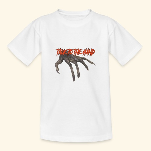 Talk To The Hand - Kinderen T-shirt
