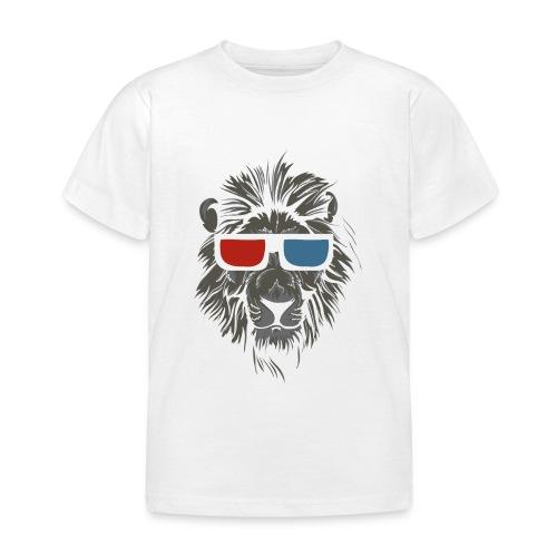 Lion 3D - T-shirt barn