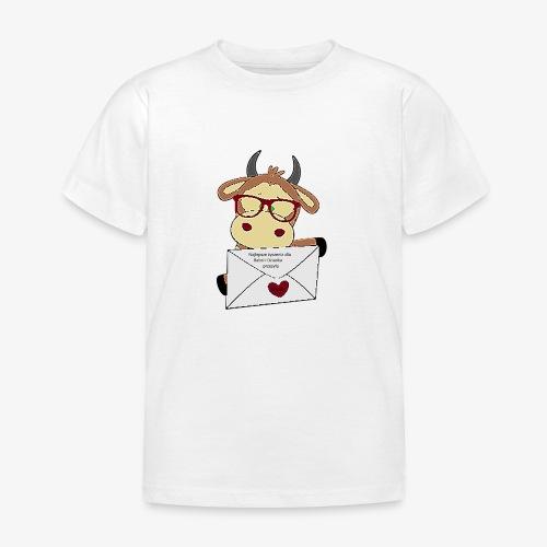Krówka życzy Dziadkom - Koszulka dziecięca
