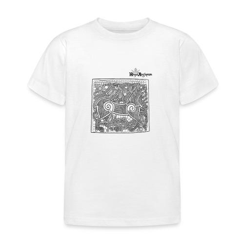 Transparent Beastie - Kids' T-Shirt