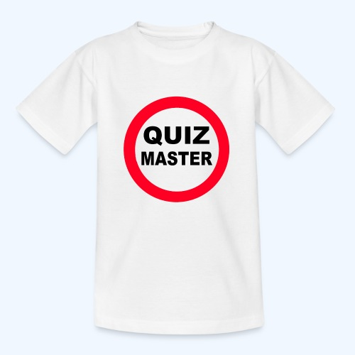 Quiz Master Stop Sign - Kids' T-Shirt