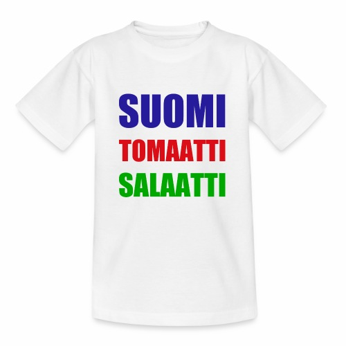 SUOMI SALAATTI tomater - T-skjorte for barn