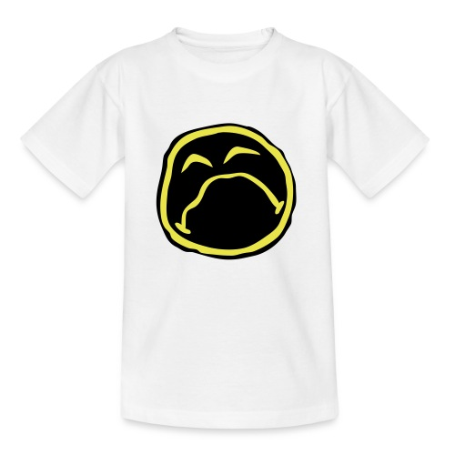 Droef Emoticon - Kinderen T-shirt
