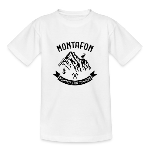 Montafon-Edition in Schwarz - Kinder T-Shirt