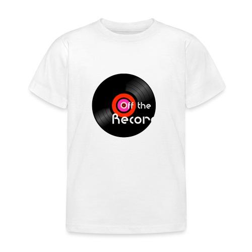 Off the Record - Lasten t-paita
