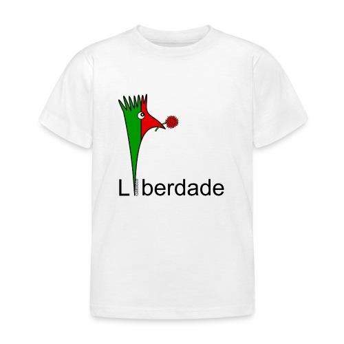 Galoloco - Liberdaded - 25 Abril - T-shirt Enfant