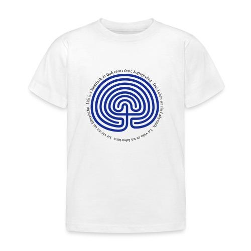Labyrinth tessera - Kinder T-Shirt