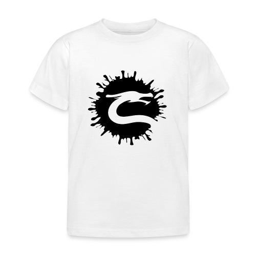 Dragemester_Sort - Børne-T-shirt