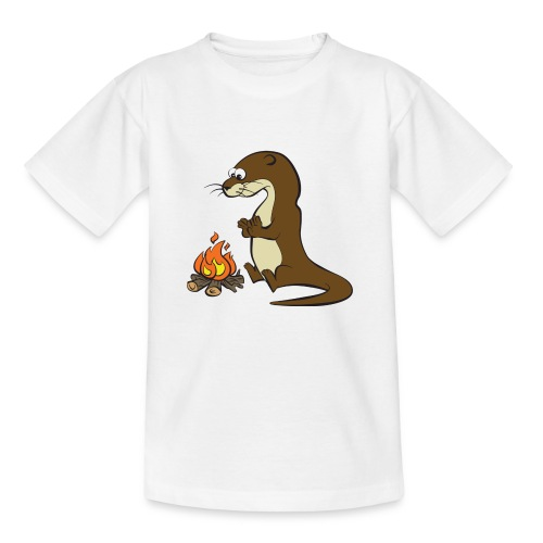 Song of the Paddle; Quentin campfire - Kids' T-Shirt