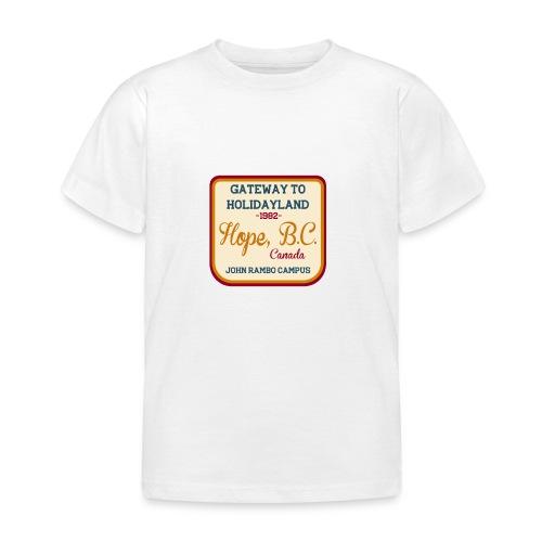 Rambo Hope Holidayland - Koszulka dziecięca