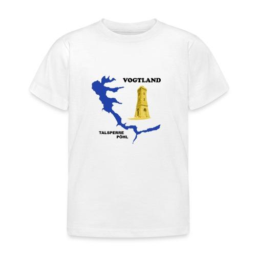 Pöhl Talsperre Mosenturm Vogtland Sachsen - Kinder T-Shirt
