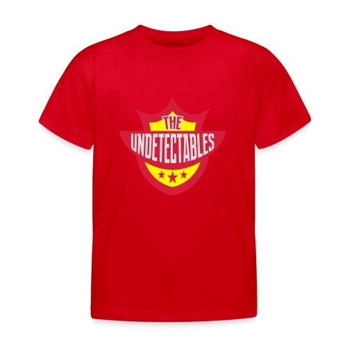 Undetectables voorkant - Kinderen T-shirt