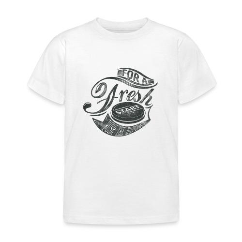 Fresh start - Kinder T-Shirt