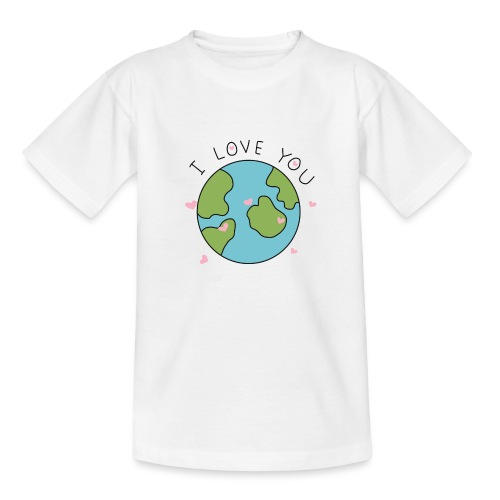 iloveyou - Maglietta per bambini