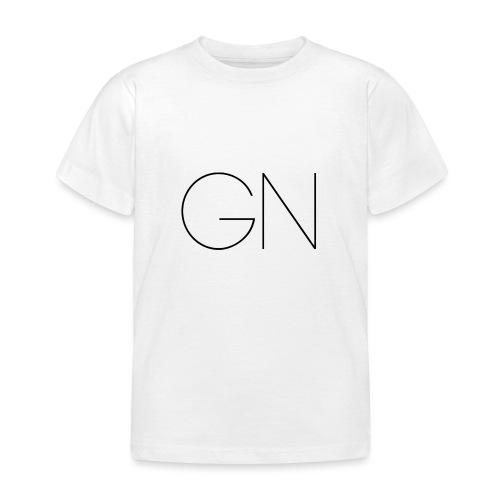 Långärmad tröja GN slim text - T-shirt barn