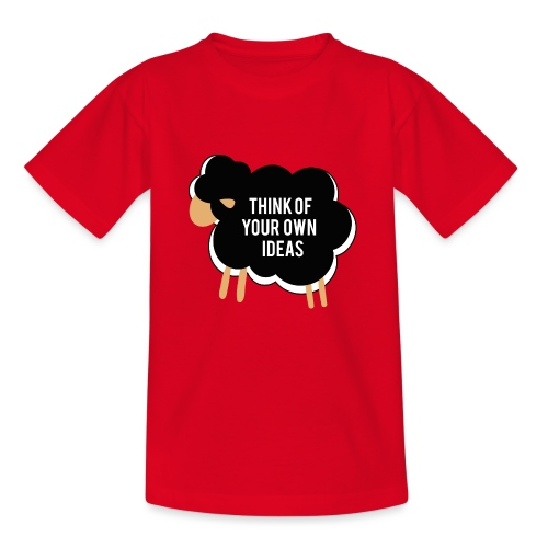 Think of your own idea! - Kids' T-Shirt