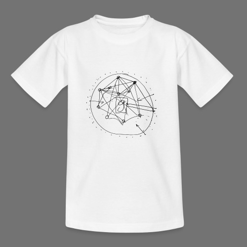 SEO strategia No.1 (musta) - Lasten t-paita