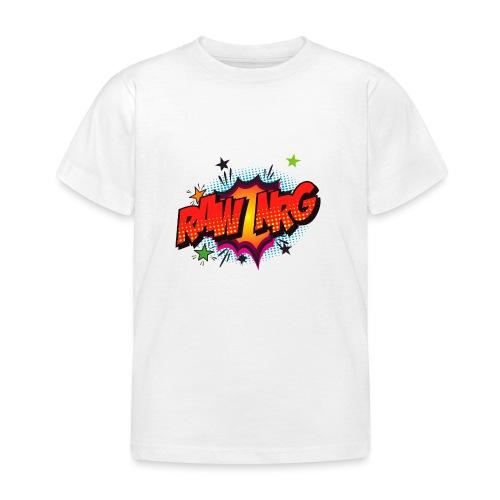 Raw Nrg comic3 - Kids' T-Shirt
