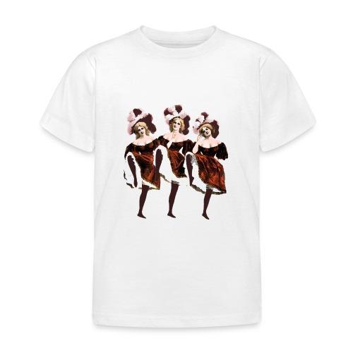 Vintage Dancers - Kids' T-Shirt
