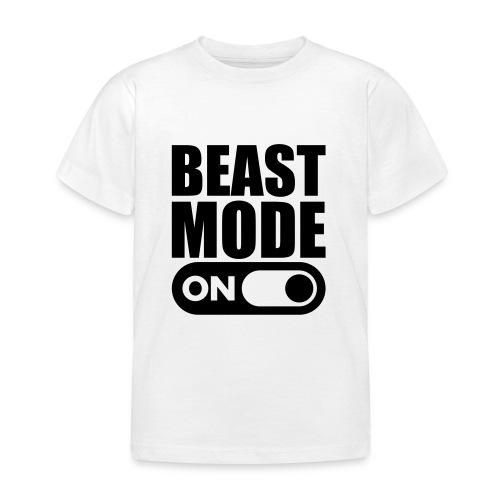 BEAST MODE ON - Kids' T-Shirt