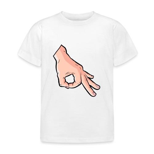 The Circle Game Ok Emoji Meme - Kids' T-Shirt