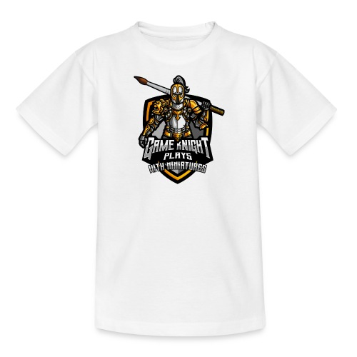 Game kNight Plays with Miniatures - Kids' T-Shirt