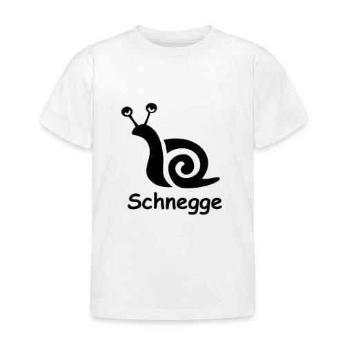 schnegge - Kinder T-Shirt