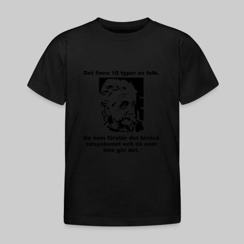 Det finns 10 Typer - T-shirt barn