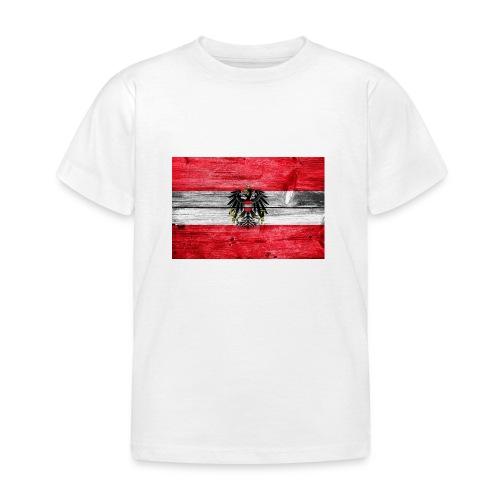 Austria Holz - Kinder T-Shirt