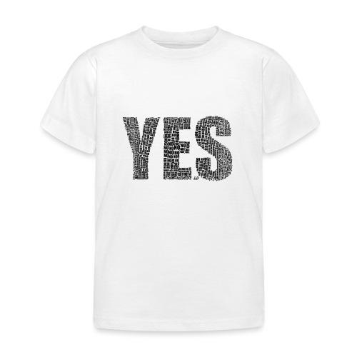 Yes - Maglietta per bambini