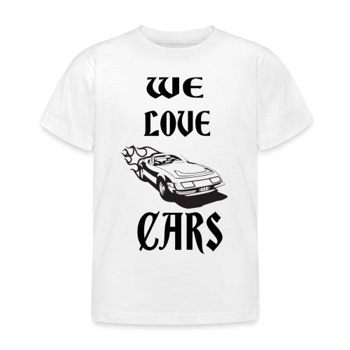 auto fahrzeug garage - Kinder T-Shirt