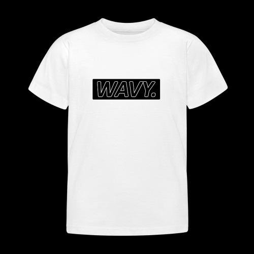 BLACK WAVY. RECTANGLE - T-shirt Enfant