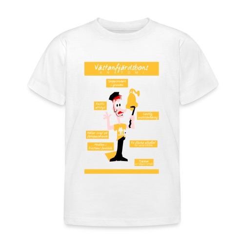 Västanfjärdsbons anatomi - Lasten t-paita