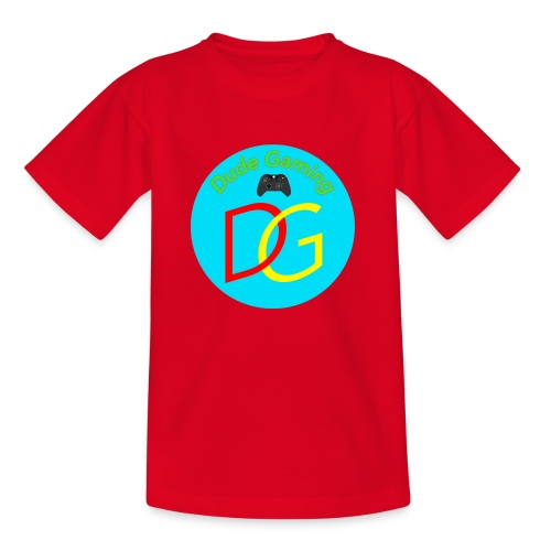 Dude Gaming - Børne-T-shirt