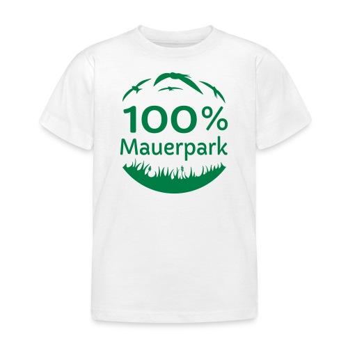 100% Mauerpark - ohne www - Kinder T-Shirt