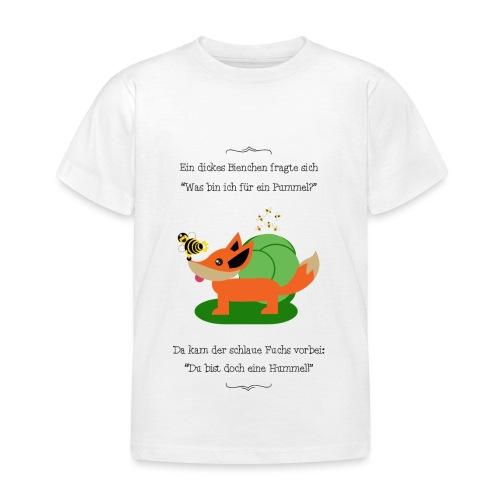 Pummelbiene - Kinder T-Shirt