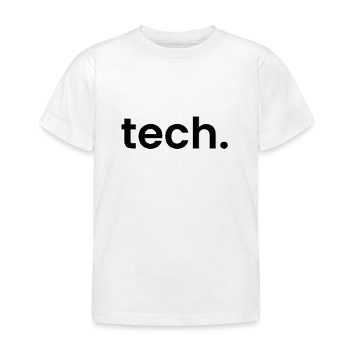 tech. - Kids' T-Shirt